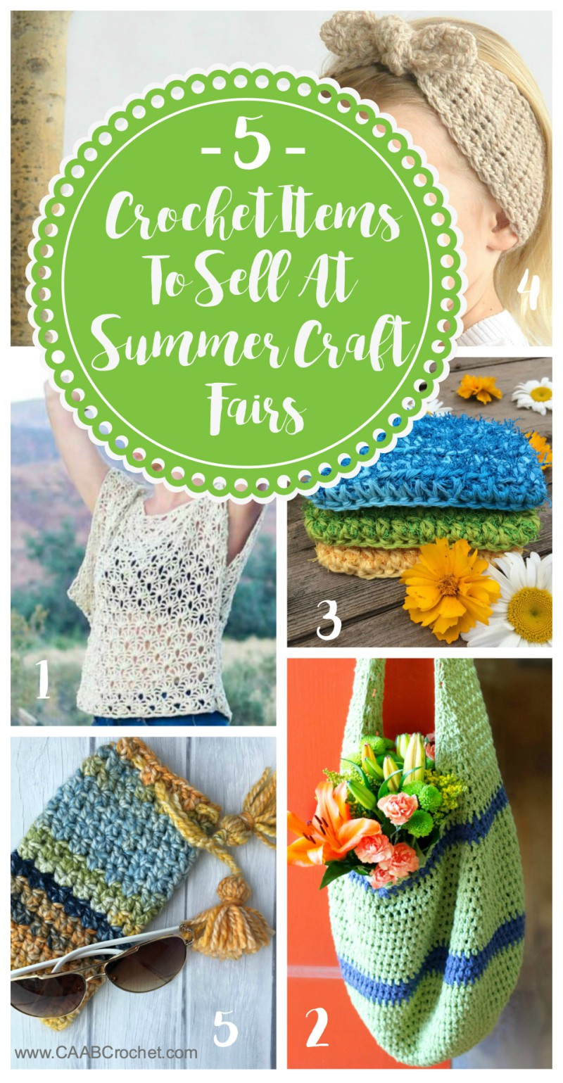 summer craft ideas to sell crochet items to sell at summer craft fairs ideas for 7210